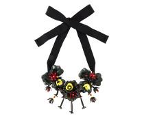 P.A.R.O.S.H. Halskette mit floralen Motiven