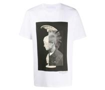 "T-Shirt mit ""Mohawk Warrior""-Print"