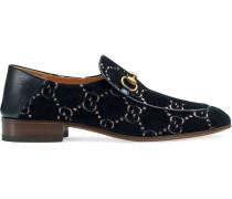 Loafer mit Horsebit und GG