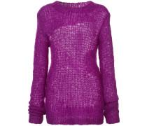 Pullover in Lochstrick