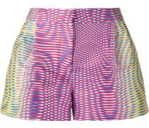 'Zeta' Seiden-Shorts mit Print