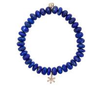 Armband mit 14kt Goldanhänger und Diamanten