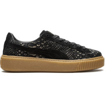 'Platform Exotic Skin' Sneakers