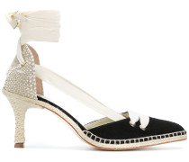 Pumps im Espadrille-Design