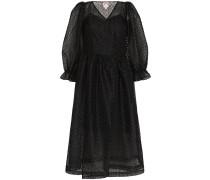 'Trinity' Kleid mit Netzeinsatz