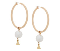 Kreolen mit Perle