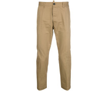 Schmale Cropped-Chino