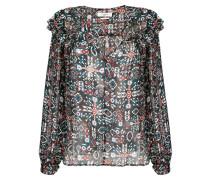 Bluse mit geometrischem Muster