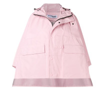 Lockere Regenjacke