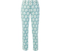 novelty print trousers
