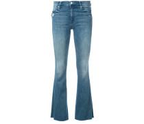 Schlag-Jeans mit enger Passform