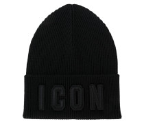 "Beanie mit ""Icon""-Stickerei"