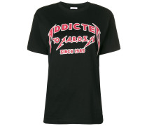 P.A.R.O.S.H. T-Shirt mit Slogan-Print