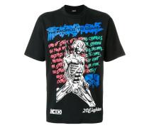 "T-Shirt mit ""Muscle Lady""-Print"