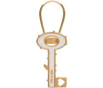 Saffiano-Schlüsselanhänger