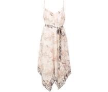 Camisole-Kleid mit Schlangen-Print