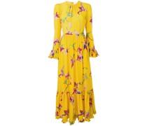 'Visconti' Kleid mit Orchideen