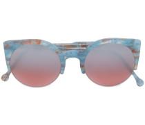 'Lucia Onice Azzurro' Sonnenbrille