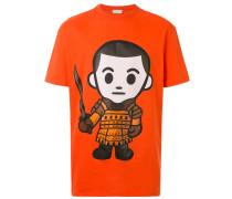 """T-Shirt mit """"Eleven Samurai""""-Print"""