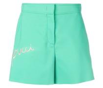 Bestickte Shorts
