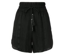 Paxi elasticated waistband shorts