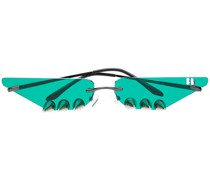 Sonnenbrille mit Nieten