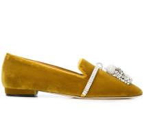 'Louis' Slipper mit Kristallen