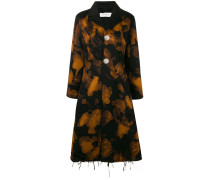 Mantel mit Farbklecks-Print