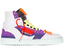 Mehrfarbige 'Court' High-Top-Sneakers