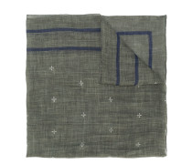 star pattern scarf