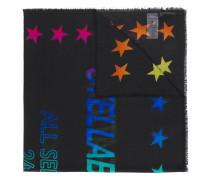 Schal mit Sterne-Muster