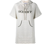 """Pullover mit """"Sorry""""-Print"""