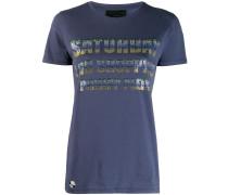 """T-Shirt mit """"Saturday""""-Schriftzug"""