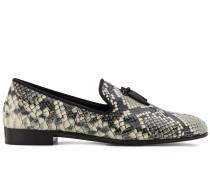 Shark python-effect loafers