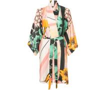 Kimonokleid mit Print
