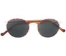 'Zev' Sonnenbrille in Schildpattoptik