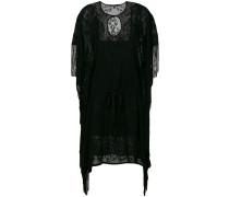 'Sharkbite' Kleid mit Netzeinsatz