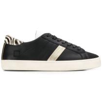 D.A.T.E. Sneakers mit Streifen