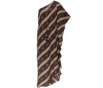 'Maisie' Kleid mit Batikmuster