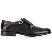 Monk-Schuhe mit Budapestermotiv