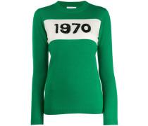1970er Pullover mit Pailletten