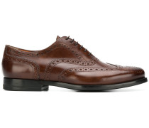 embroidered oxford shoes