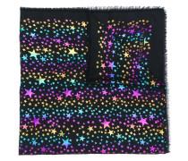 Schal mit Stern-Muster