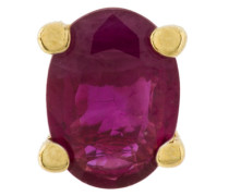18kt gold and ruby stud earrings