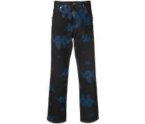Jeans mit Kappa-Print