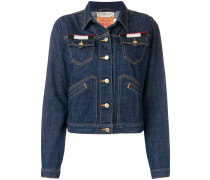 Jeansjacke mit Patch