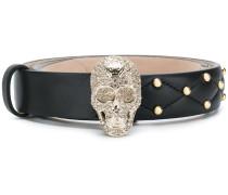 skull and stud belt