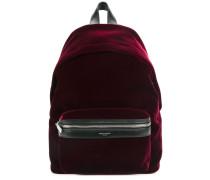 zipped pocket backpack