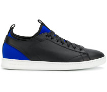 neoprene-panelled sneakers