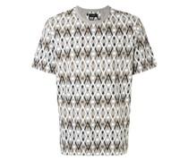 T-Shirt mit Rauten-Print